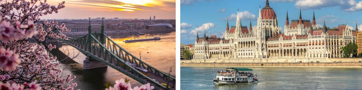 Тур по столицам Венгрии и Австрии. Уикенд в Будапеште и Вене