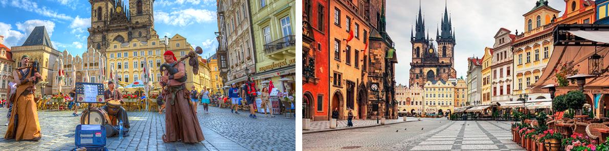 Автобусный тур в Прагу из Одессы