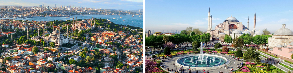 Австоубсный тур в Турцию - 3 дня в Стамбуле из Одессы